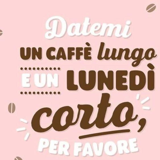 immagini buon lunedì con caffè